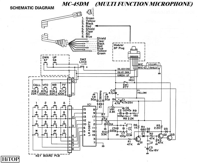 Kenwood    Mc       42s       Mic       Wiring       Diagram         Wiring    Schematic